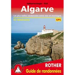 Achat Topo guide randonnées - Algarve Les plus belles randonnées entre mer et montagne 53 itinéraires - Rother