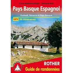 Achat Topo guide randonnées - Pays Basque Espagnol - Rother