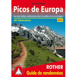 Achat Topo guide randonnées - Picos de Europa - Rother