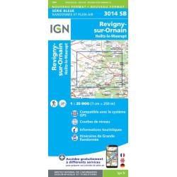 Achat Carte randonnées IGN - 3014 SB - Heiltz-le-Maurupt, Revigny