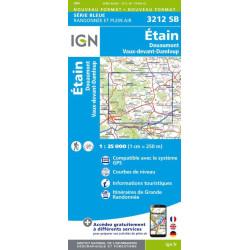 Achat Carte randonnées IGN - 3212 SB - Douaumont, Etain