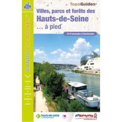 Topo guide randonnées - Villes-parcs et forêts des Hauts-De-Seine - FFRP VI92