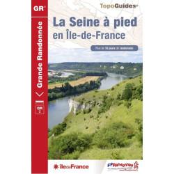 Topo guide randonnées - La Seine à pieds en Ile-de-France - FFRP 203