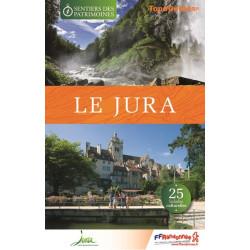 Topo guide randonnées - Les sentiers des Patrimoines du Jura - FFRP SP03