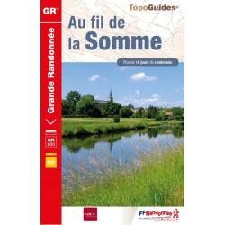 Topo guide randonnées - Au fil de la Somme - FFRP 8000