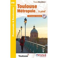 Topo guide randonnées - Toulouse métropole à pied - FFRP P311