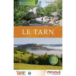Topo guide randonnées - Les sentiers des patrimoines du Tarn - FFRP SP02