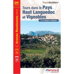 Topoguide - Tours dans le pays Haut-Languedoc et Vignobles - FFRP 3400