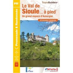 Topoguide - Le Val de Sioule à pied - FFRP P032