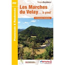 Topoguide - Les marches du Velay à pied - FRRP P43D