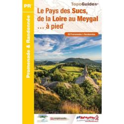 Topoguide - Le pays des Sucs et du Meygal à pied - FFRP P438