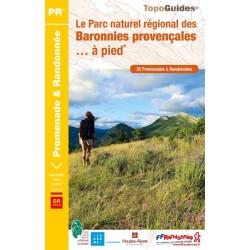 Achat Topo guide randonnées - Le parc naturel régional des Baronnies Provençales à pied - FFRP PN19