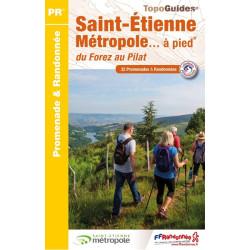 Topo guide randonnées - Saint-Etienne et ses environs - FFRP P426