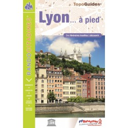 Topo guide randonnées - Lyon à pied - FFRP VI08