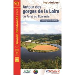 Topo guide randonnées - Autour des gorges de la Loire - FFRP 420