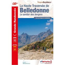 Topo guide randonnées - Haute traversée de Belledonne - FFRP 738