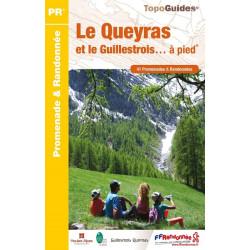 Topo guide randonnées - Queyras Guillestrois - FFRP P056