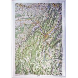 Carte en relief - Chartreuse, Vercors - 60171