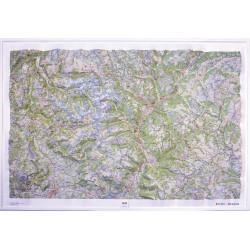 Carte en relief - Ecrins, Queyras - 60170
