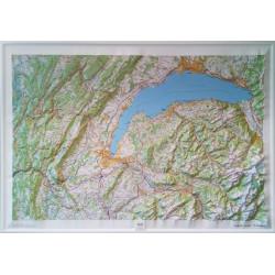 Carte en relief - Haut-Jura, Léman - 60174