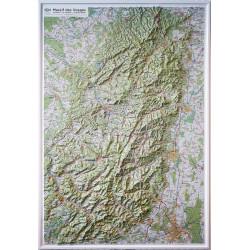 Carte en relief - Massif des Vosges - Le Donon, Le Hohneck, Le Grand Ballon - 60177