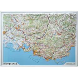 Carte en relief - Provence - 60202