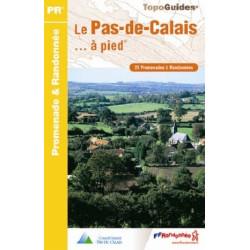 Achat Topo guide randonnées - Le Pas-de-Calais à pied - FFRP 088
