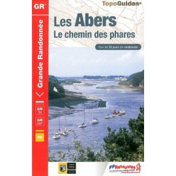 Achat Topo guide randonnées - Les Abers - Le chemin des phares - FFRP 347