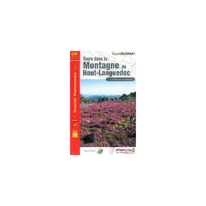 Achat Topo guide randonnées - Tours dans la Montagne du Haut-Languedoc - FFRP 3481