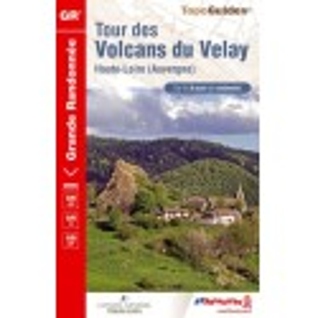 Achat Topo guide randonnées - Topo guide randonnées - Tour des Volcans du Velay - FFRP 425
