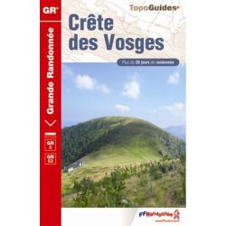 Achat Topo guide randonnées - Crête des Vosges - FFRP 502