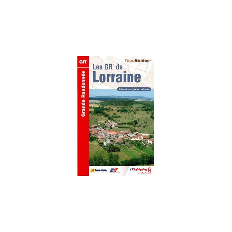 Achat Topo guide randonnées - Les GR® de Lorraine - FFRP 514