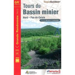Achat Topo guide randonnées - Tours du Bassin Minier Nord - Pas-de-Calais - FFRP 5962