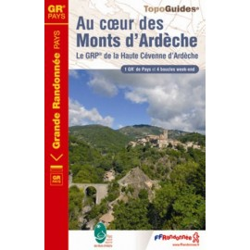 Au coeur des Monts d'Ardèche - FFRP 702