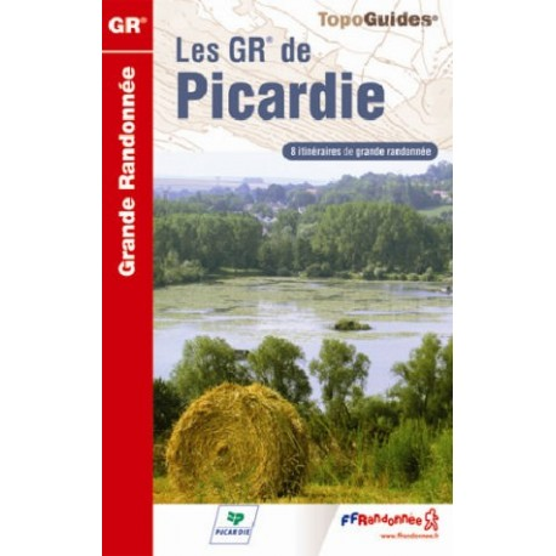 Achat Topo guide randonnées - Les GR® de Picardie - FFRP 800