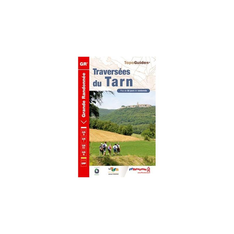 Achat Topo guide randonnées - Traversées du Tarn - FFRP 810