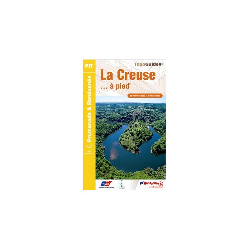 Achat Topo guide randonnées - La Creuse... à pied®  - FFRP D023