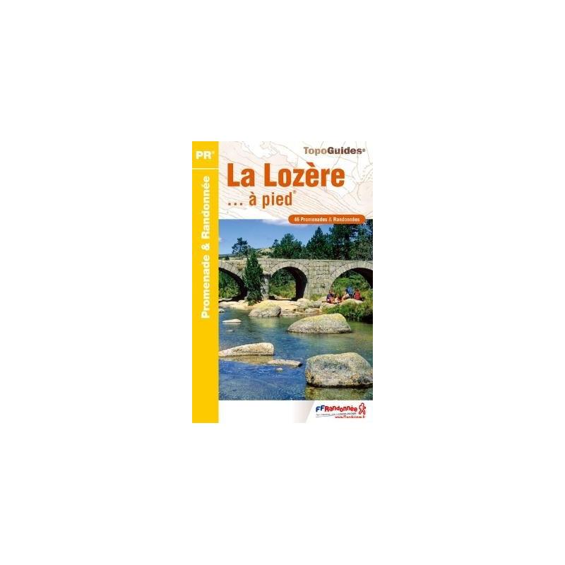 Achat Topo guide randonnées - La Lozère... à pied®  - FFRP D048