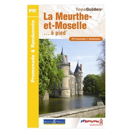 Achat Topo guide randonnées - La Meurthe-et-Moselle... à pied® - FFRP D054