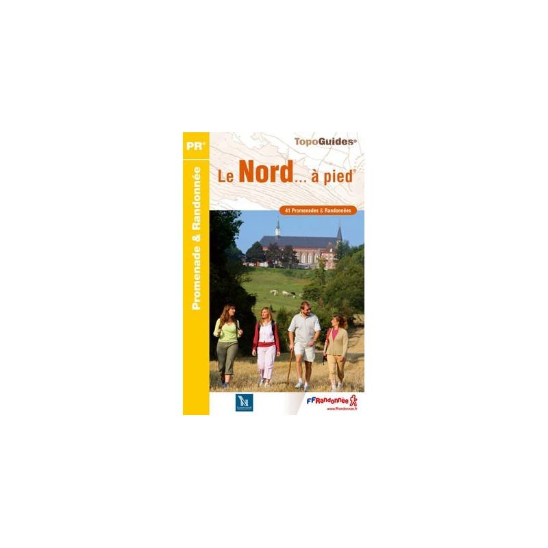 Achat Topo guide randonnées - Le Nord... à pied®  - FFRP D059