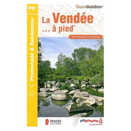 Achat Topo guide randonnées - La Vendée... à pied®  - FFRP D085