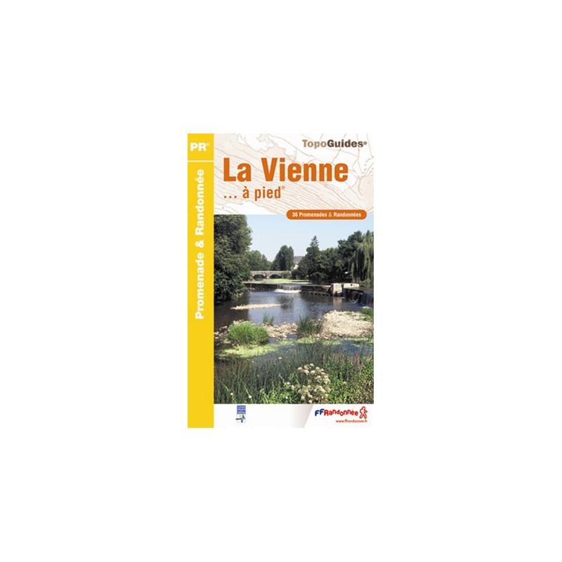 Achat Topo guide randonnées - La Vienne... à pied®  - FFRP D086