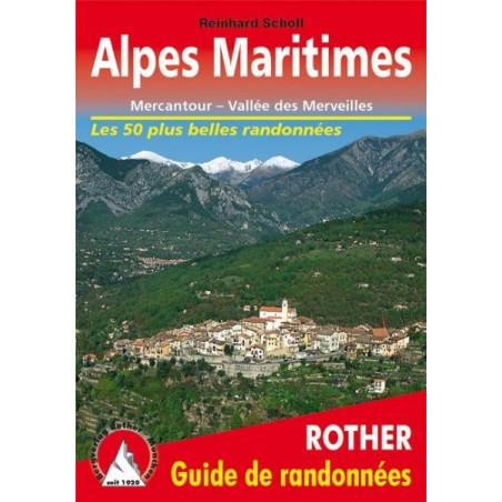 Achat Topo guide randonnées - Alpes Maritimes, Mercantour - Rother éditions