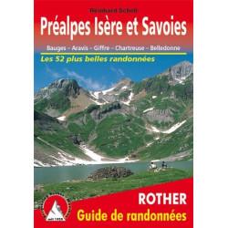 Achat Topo guide randonnées - Préalpes Isère et Savoies - Rother édition