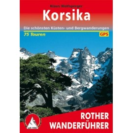 Achat Topo guide randonnées - Corse - (Allemand) - Rother