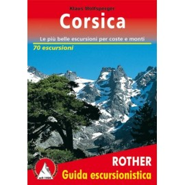 Achat Topo guide randonnées - Corsica - (Italien) - Rother