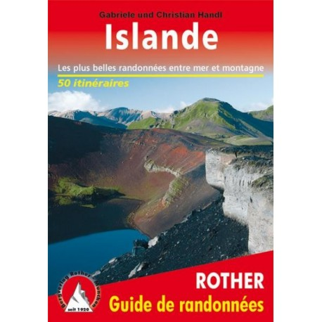 Achat Topo guide randonnées - Islande - Rother