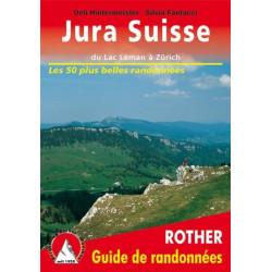 Achat Topo guide randonnées - Jura Suisse - Du Lac Léman à Zürich - Rother