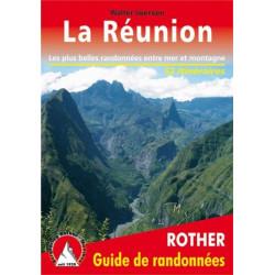 Achat Topo guide randonnées - La Réunion - Rother