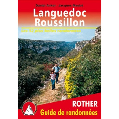 Achat Topo guide randonnées - Languedoc-Roussillon - Rother